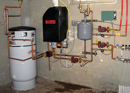 Hot Water Tank Installation and Repair